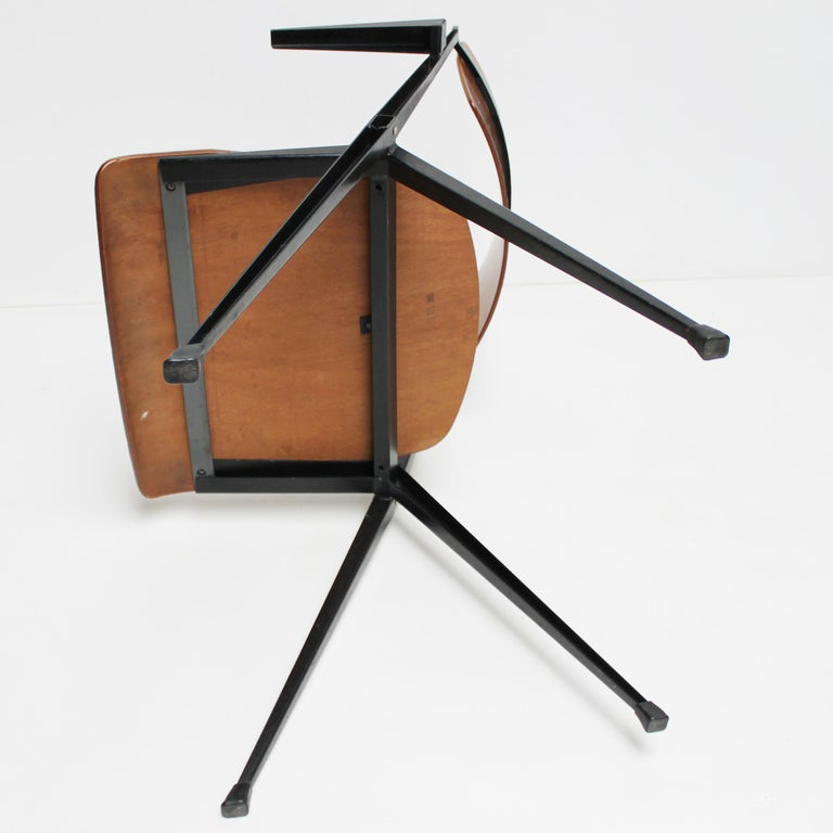 Pyramid Armchair by Wim Rietveld for De Cirkel For Sale 7
