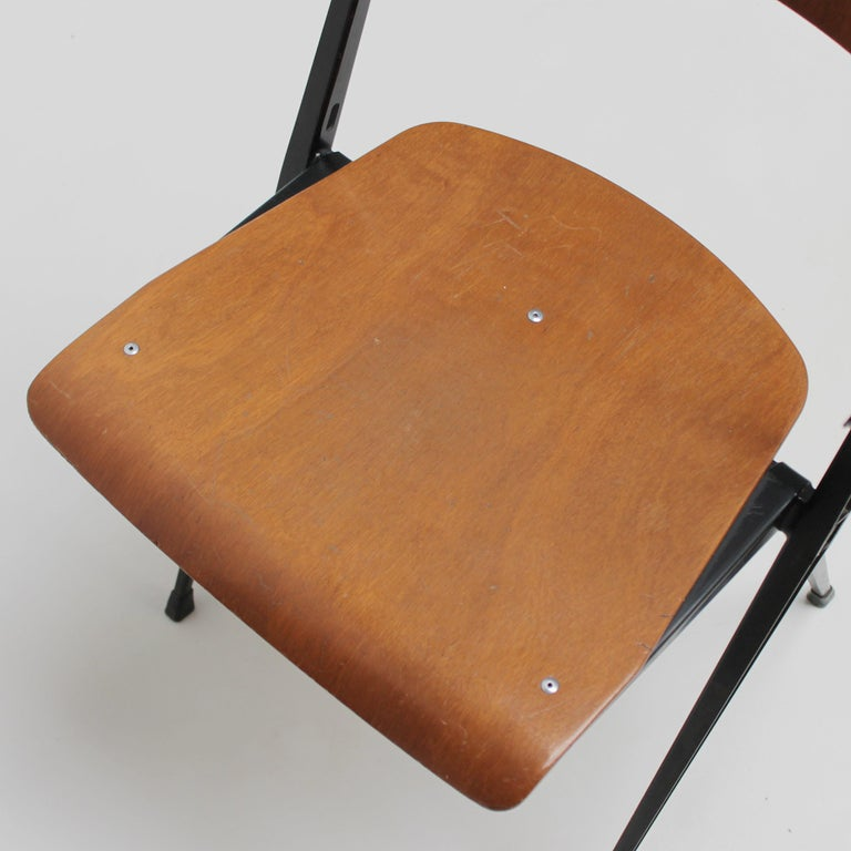 Pyramid Armchair by Wim Rietveld for De Cirkel For Sale 9
