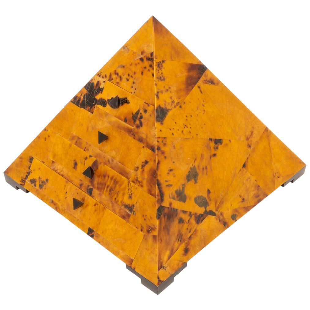 Pyramid Form Jewelry Box