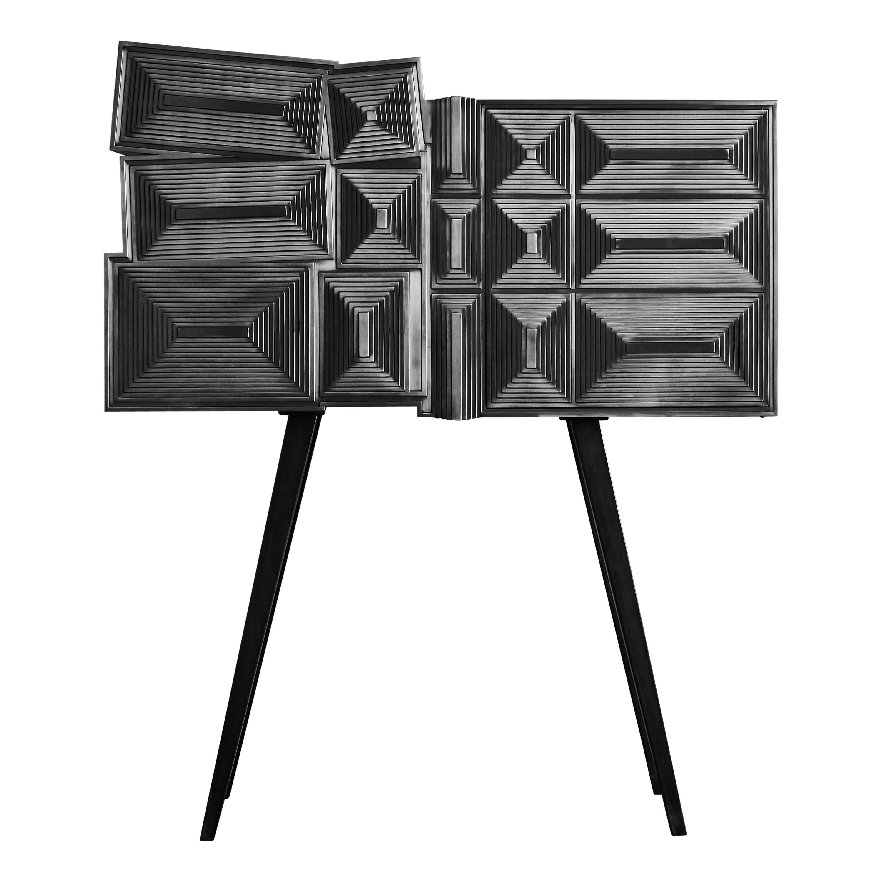 """""""Pyramides"""" Cabinet at Cost Price"""