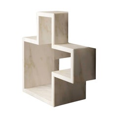 Q3 Element Space Carrara Sculpture by Studio Formart