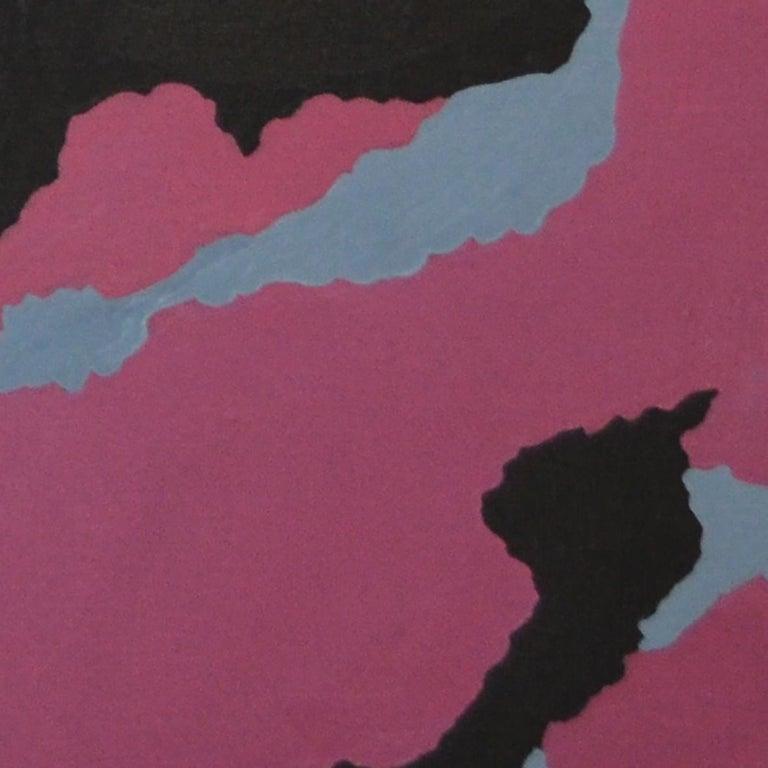 Urban Camo, Oil on linen, 70cm x 60cm, 2021 - Contemporary Painting by Qijun Li