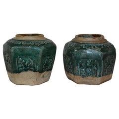 Qing Dynasty Ceramic Wine Vessels