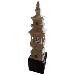 Qing Dynasty Chinese Pagoda