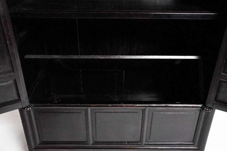 Qing Dynasty Clothing Cabinet with Four Drawers For Sale 12