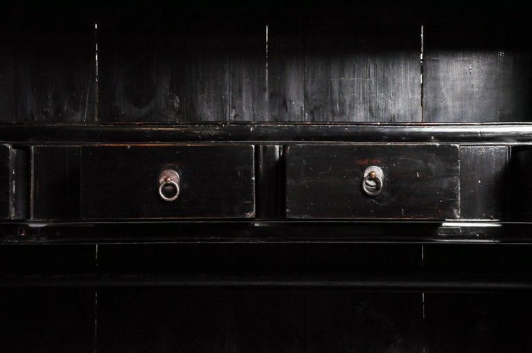 Qing Dynasty Clothing Cabinet with Four Drawers For Sale 13