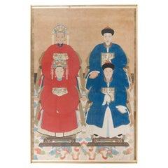 Qing Dynasty Era Ancestral Portrait