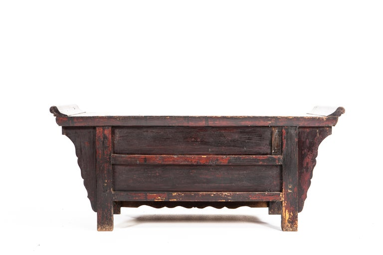 Qing Dynasty Side Chest with Two Drawers For Sale 2