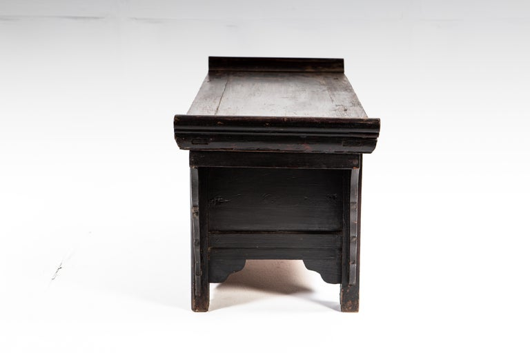 Qing Dynasty Side Chest with Two Drawers For Sale 3