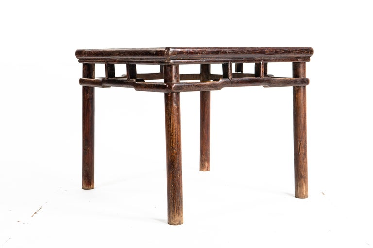 Chinese Qing Dynasty Small Side Table For Sale