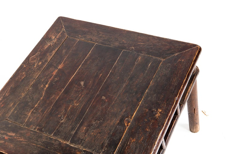 19th Century Qing Dynasty Small Side Table For Sale