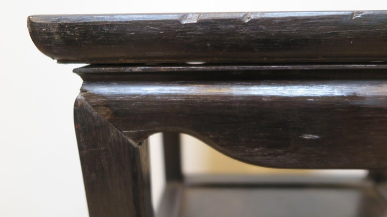 Qing Dynasty Zitan Chair Set For Sale 5