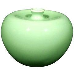 Qing Period Chinese Celadon Porcelain Water Pot, Guangxu Marks