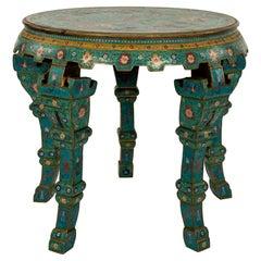 Qing Style Cloisonné Center Table