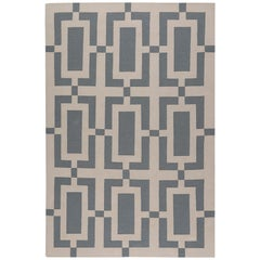 Quad Hand-Knotted Area Rug in Wool by The Rug Company