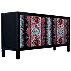 Quadra Black Sideboard