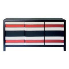 Quadra Striped Sideboard