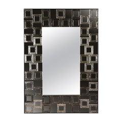 Quadrati Mirror by Ongaro & Fuga