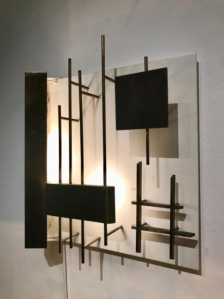 20th Century Quadri Luminosi Model Number 575 and 576 Designed by Gio Ponti For Sale