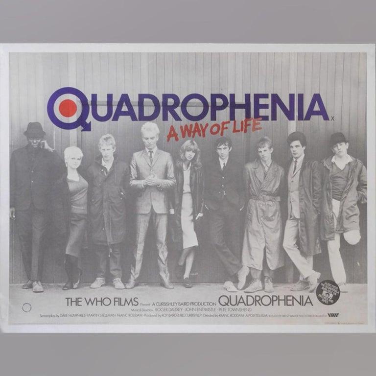 British Quadrophenia '1979' Poster For Sale