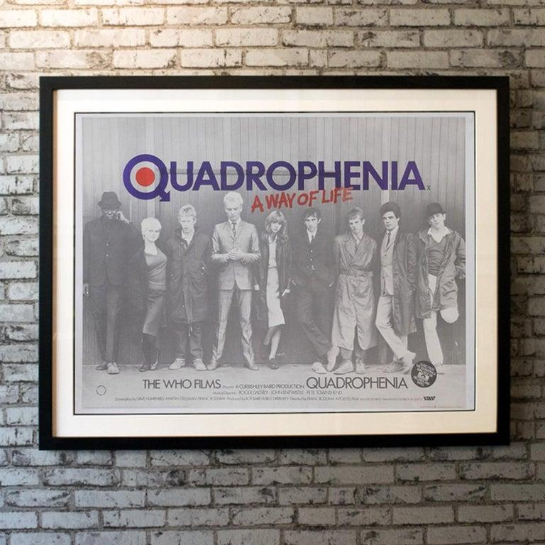 Quadrophenia '1979' Poster In Good Condition For Sale In London, GB