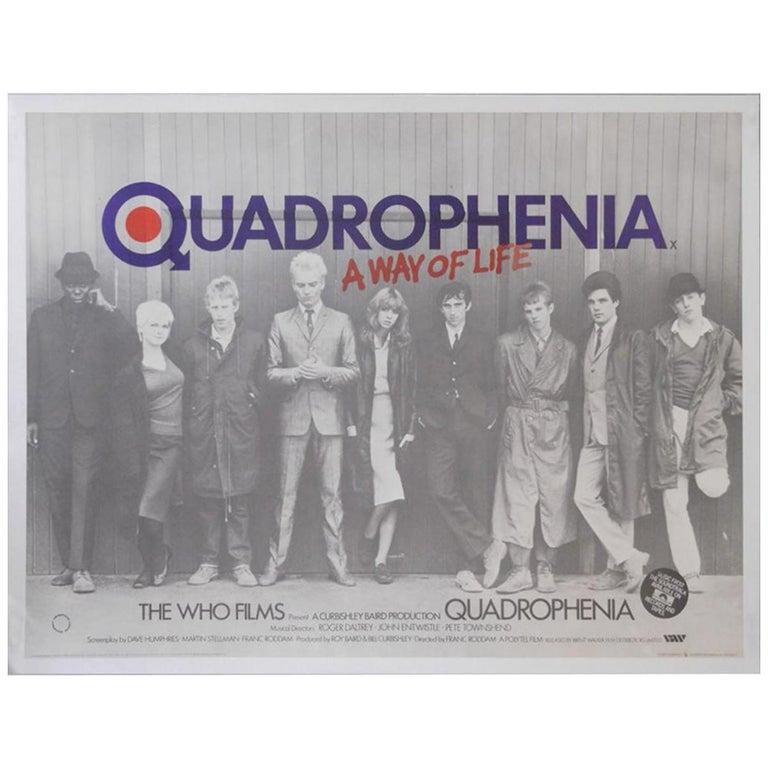 Quadrophenia '1979' Poster For Sale