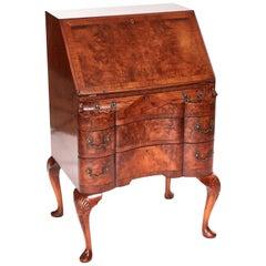 Quality Antique Burr Walnut Bureau