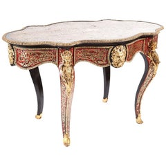 Quality Antique French Boulle Centre Table, circa 1850