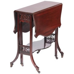 Quality Antique Mahogany Sutherland Table