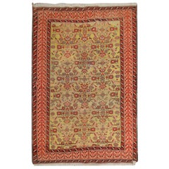 Quality Antique Rug Caucasian Karabag Handmade Carpet Oriental Wool Rug for Sale