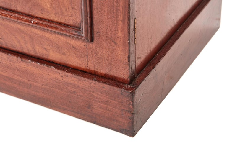 Quality Antique Victorian Mahogany Bookcase For Sale 2