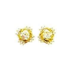 Quality Diamond Studs 1.60 Carat Expectational VS1