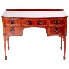 Quality Edwardian Mahogany Writing Table/Desk
