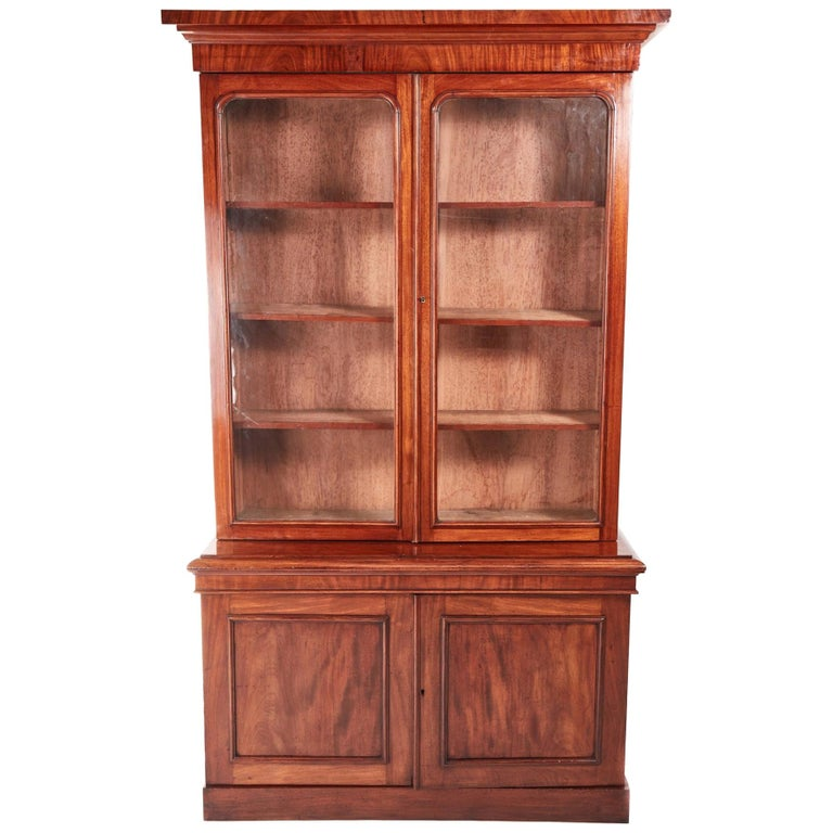 Quality Victorian Mahogany Bookcase For Sale At 1stdibs