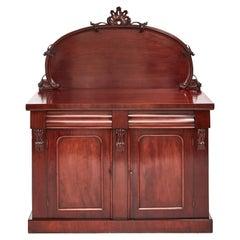 Quality Victorian Mahogany Chiffonier