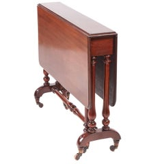 Quality Victorian Mahogany Sutherland Table