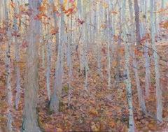 Autumn Woods, Oil Painting