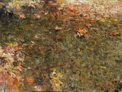 Still Pool, Oil Painting