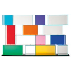 Quantum Bookshelf, by Piero Lissoni for Glas Italia