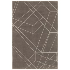 Quantum Hand-Knotted Area Rug in Wool by The Rug Company