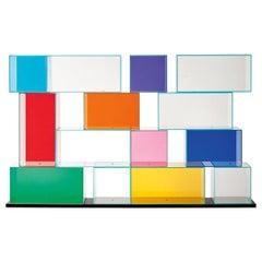 Quantum Large Bookshelf, by Piero Lissoni for Glas Italia