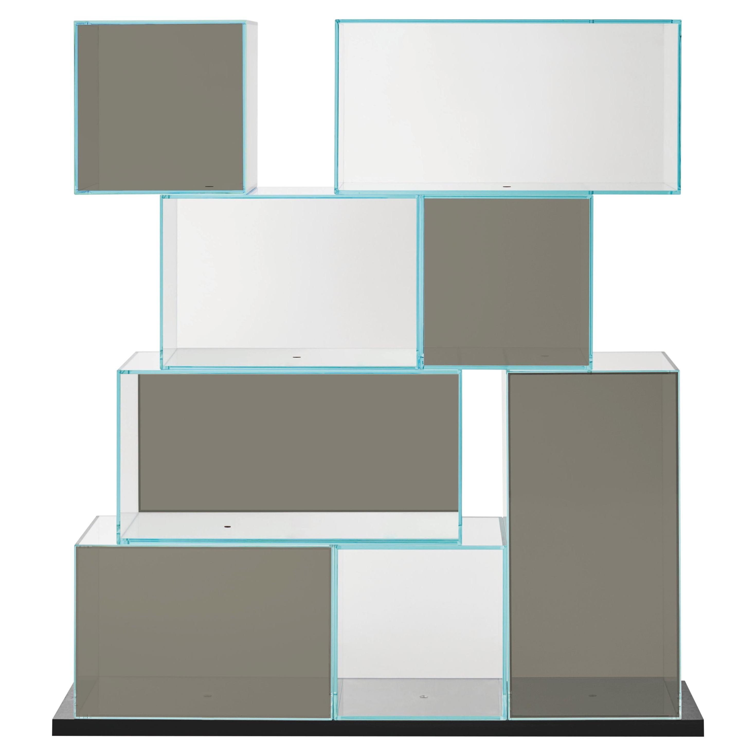 Quantum Medium Bookshelf, by Piero Lissoni for Glas Italia