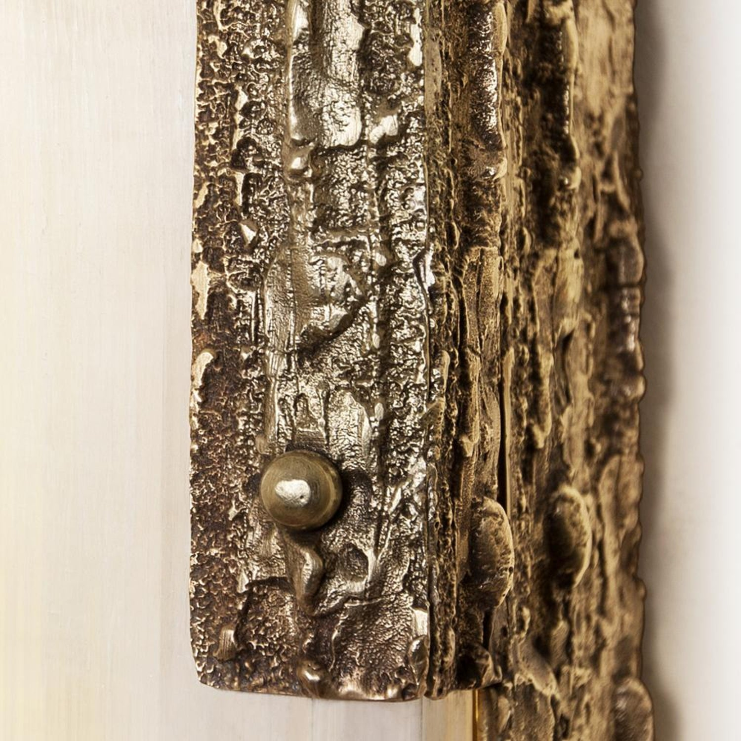 Quantum Wall Lamp Bronze And Selenite For Sale At 1stdibs