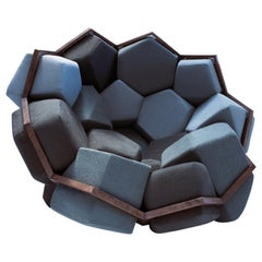Quartz Armchair by CRTL ZAK and Davide Barzaghi