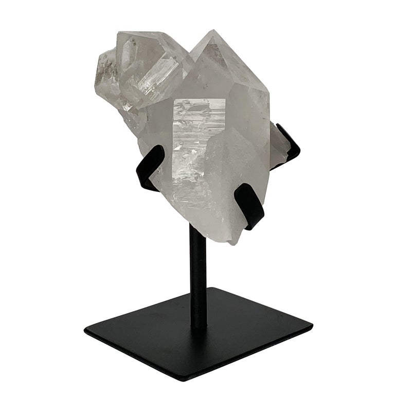 Quartz Crystal Mounted Mineral Specimen