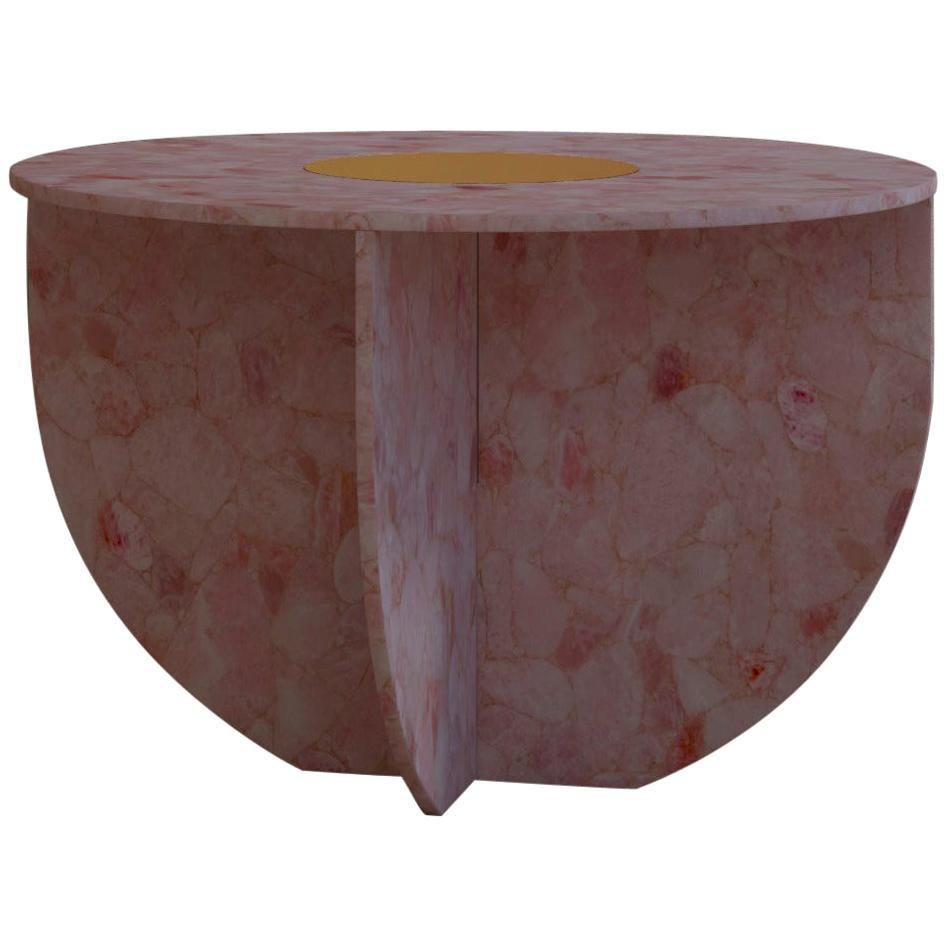 Quartz Elizabeth Love Table Handsculpted by Element & Co