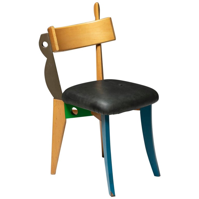 """""""Quasimodo"""" Chair by Weil and Taylor for Anthologie Quartett For Sale"""