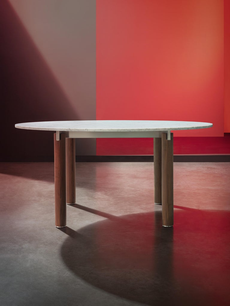 Quattro Gambe, Dining Table System, Designed by Francesco Faccin In New Condition For Sale In Varedo, IT