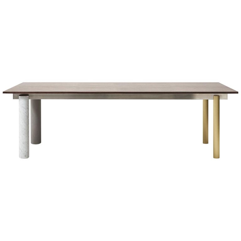 Quattro Gambe, Dining Table System, Designed by Francesco Faccin For Sale