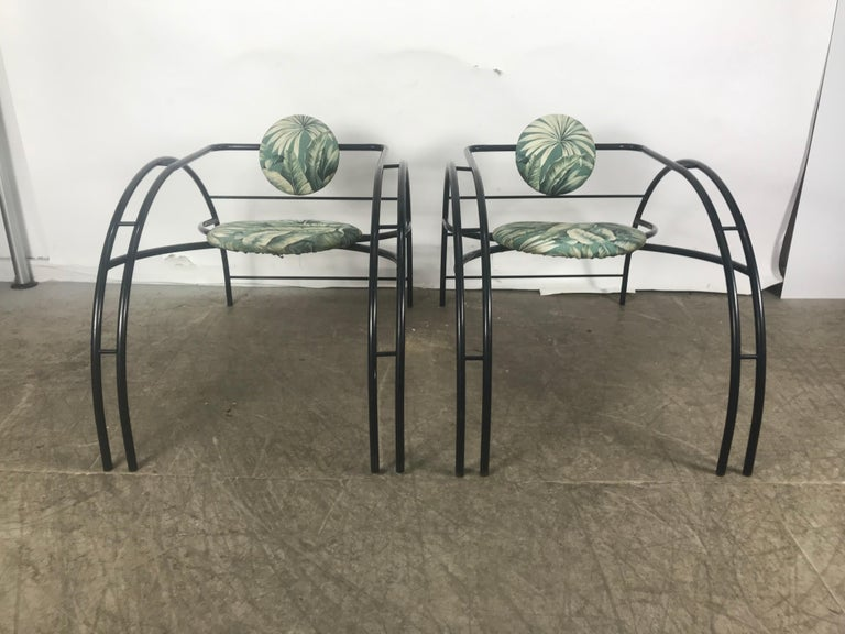 Quebec 69 Spider Chairs, Les Amisco Memphis Style, Space Age For Sale 1